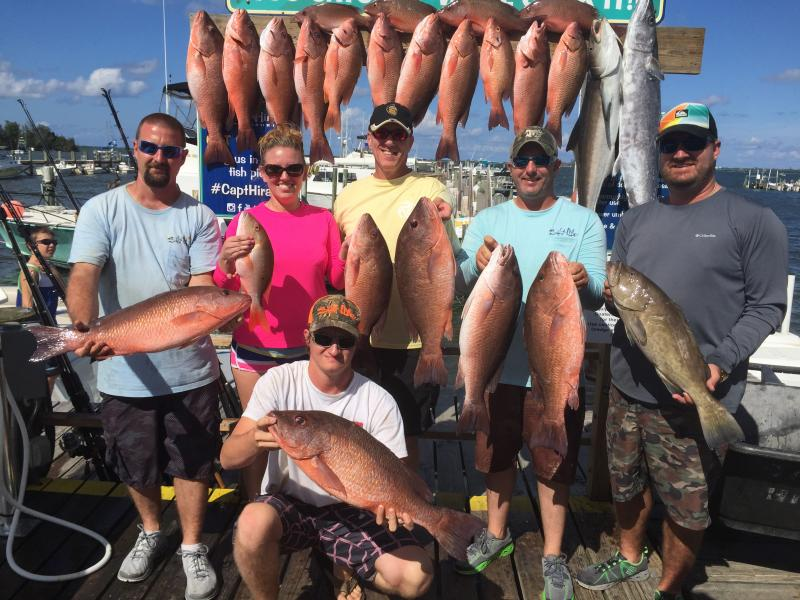 The big easy fishing charter home for Fishing charters mexico beach fl